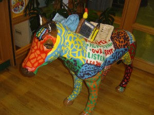 Maska Pony from Hillcrest School