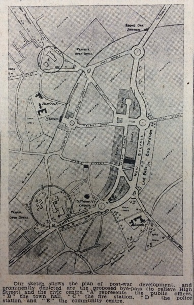 1944 Master Plan Brierley Hill