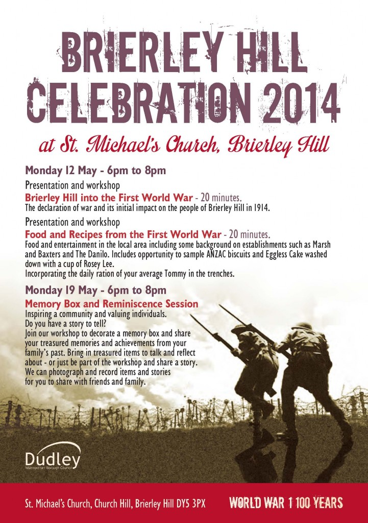 Brierley Hill celebration flyer